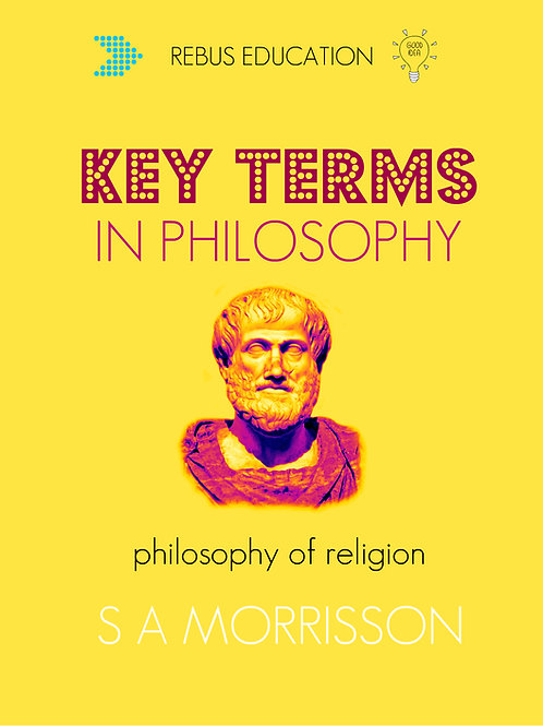 Key Terms in Philosophy