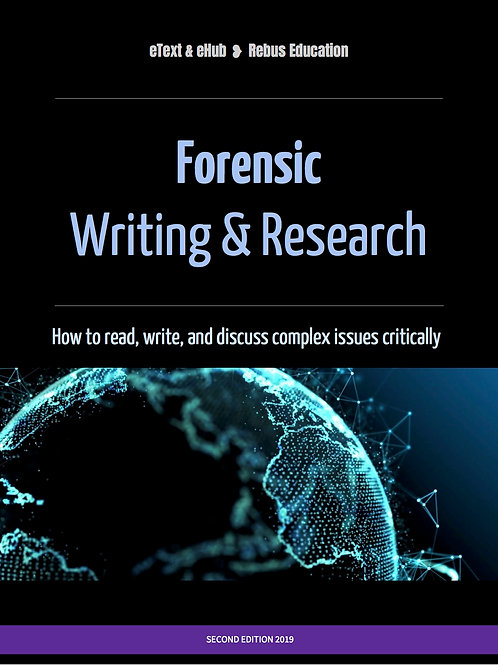 Forensic Writing & Research