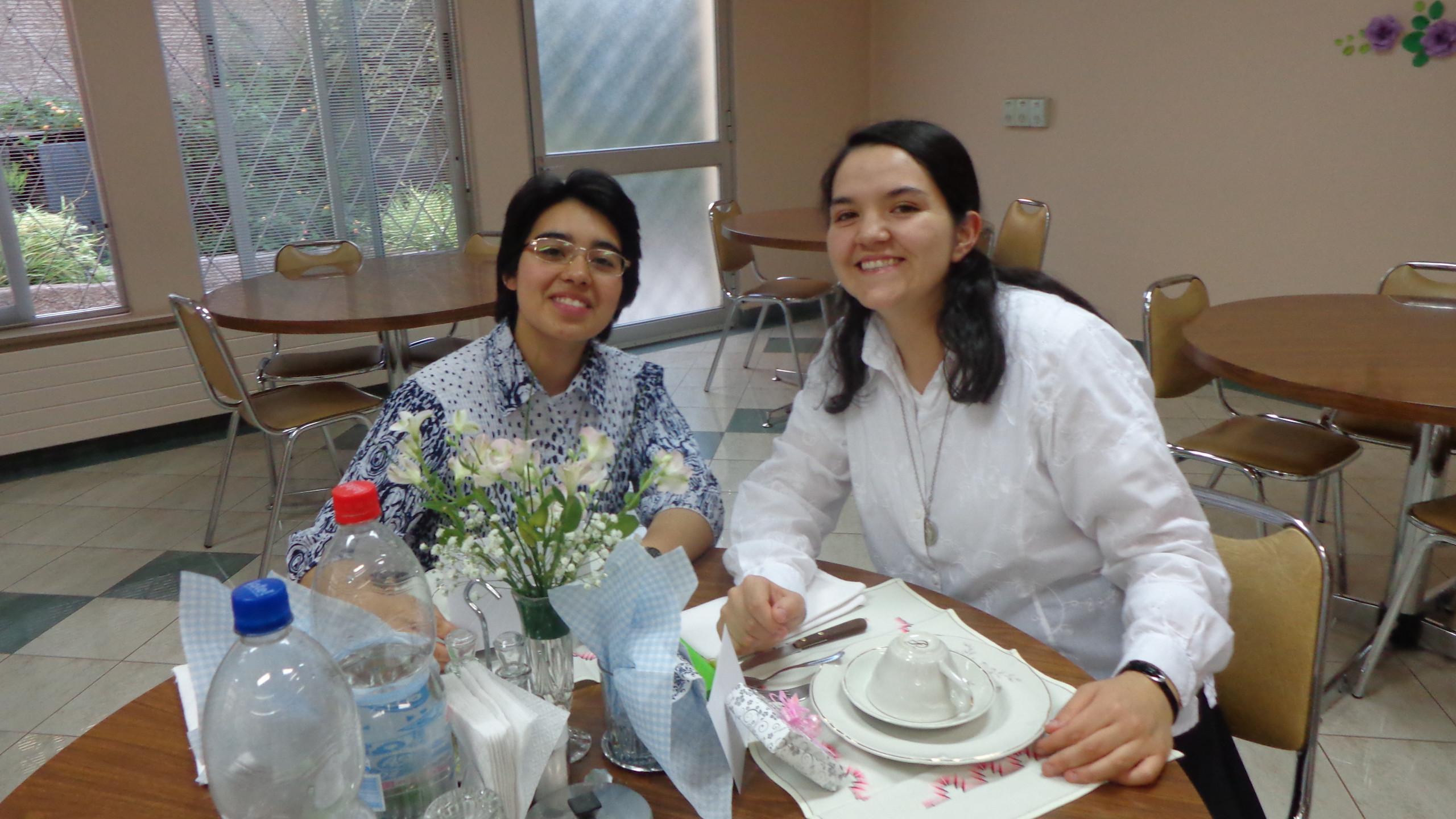 Maria José e Vanessa