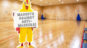 College Mascots On National Strike, Bitter Over Anti-Mask Game Goers