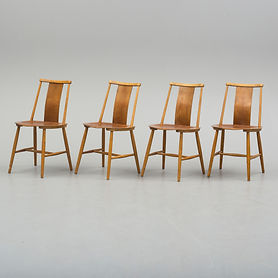 Chaises suédoise, travail anonyme