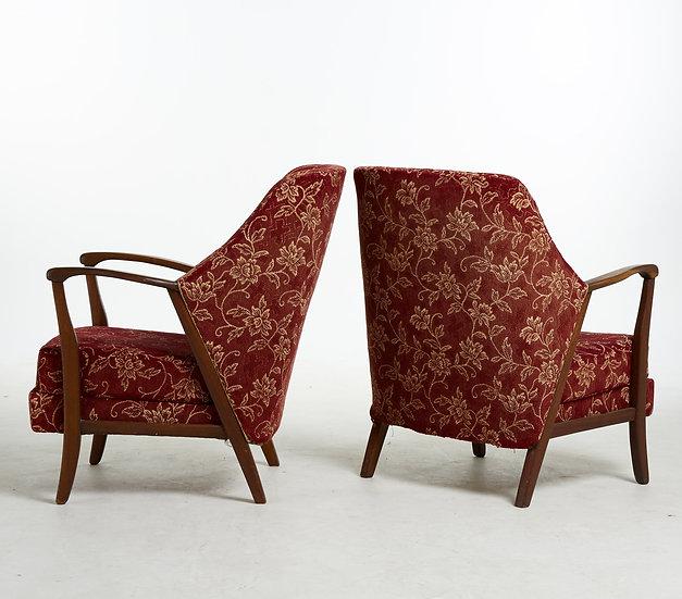 Paire de fauteuil danoise,1940