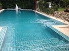 ปรับปรุงสระว่ายน้ำ ปูกระเบื้องสระใหม่