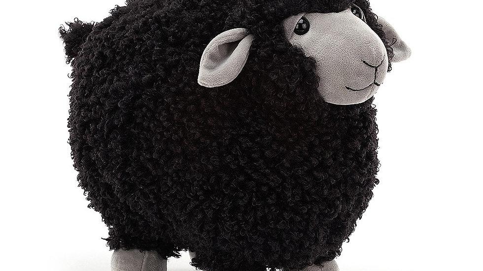 Jellycat Rolbie Sheep Black Small