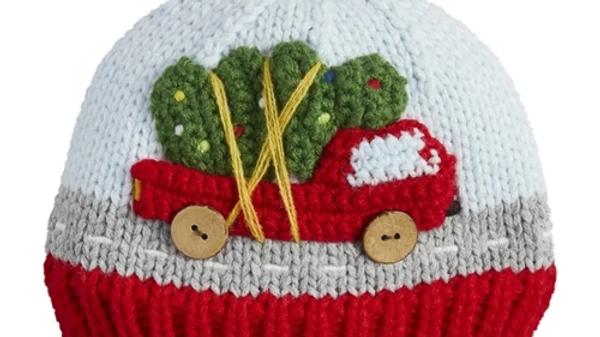 Mud Pie Christmas Truck Hat