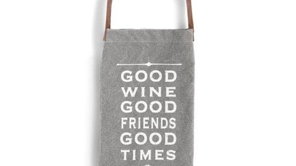 Good Wine Wine Bottle Bag