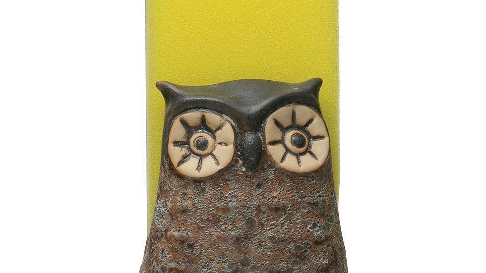 Stoneware Owl Sponge Holder