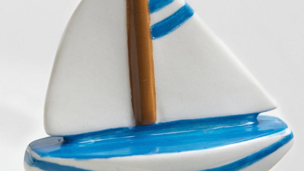 Nora Fleming Mini Sailboat