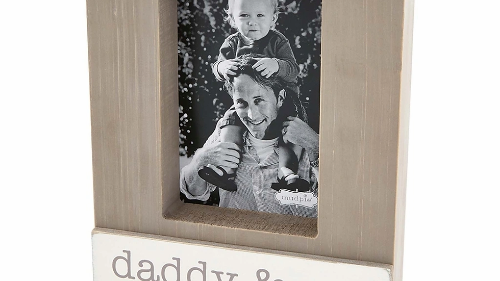 Mud Pie Daddy and Me Block Frame