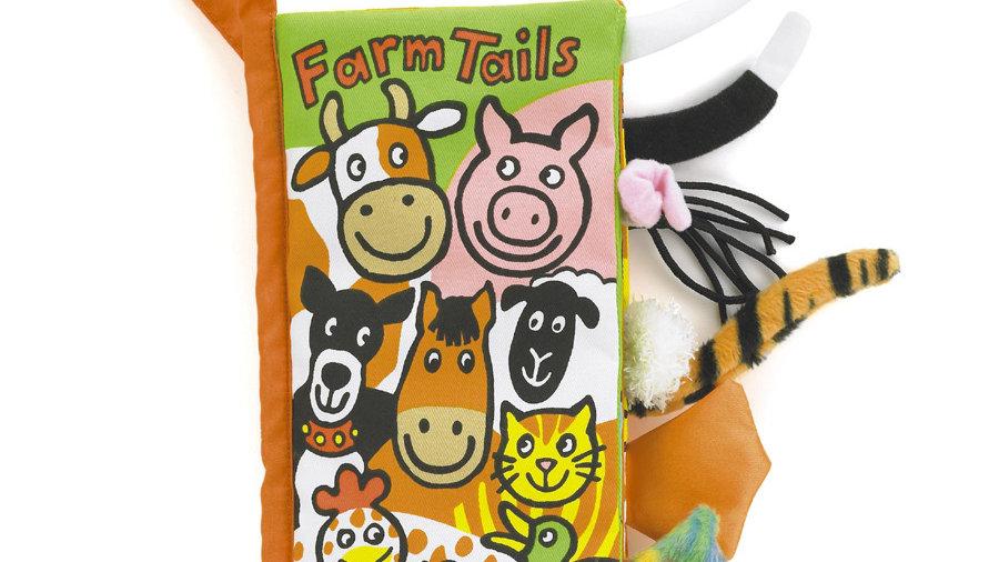 Jellycat Farm Tails Book