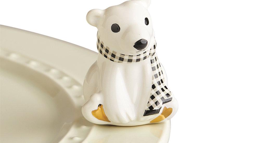 Nora Fleming Polar Bear Mini