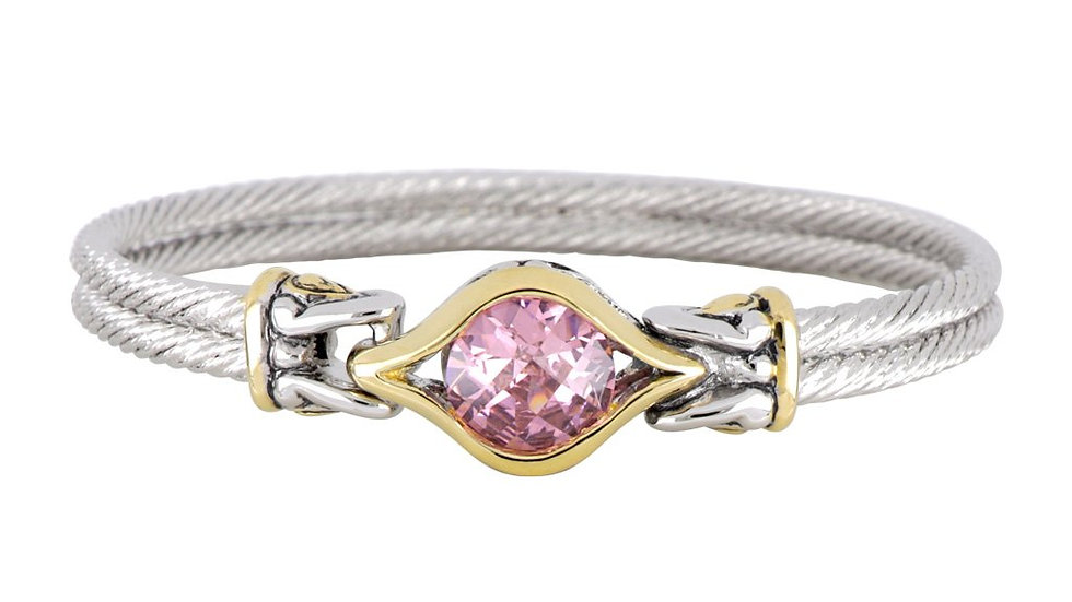 John Medeiros  Double Wire Bracelet