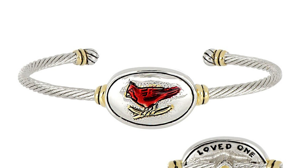 John Medeiros Cardinal Wire Cuff Bracelet