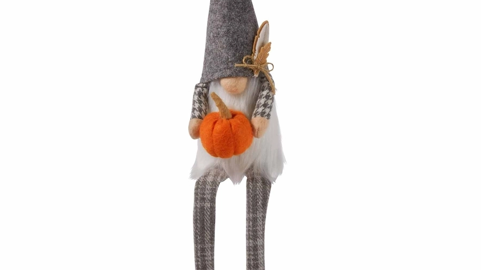 Pumpkin Dangle Gnome