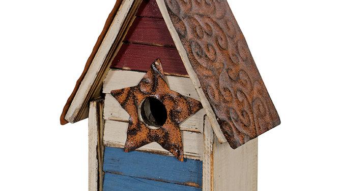 """Patriotic"" Birdhouse"