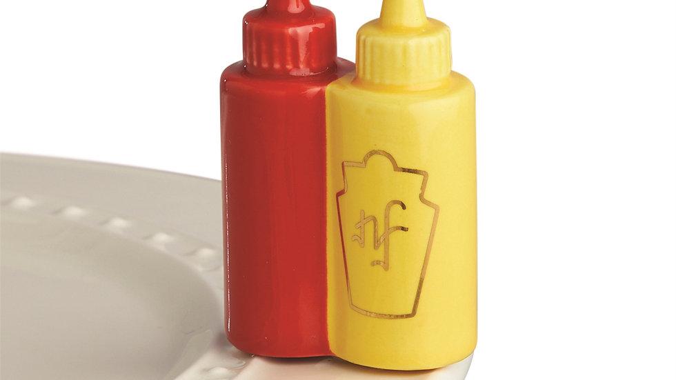 Nora Fleming Ketchup/Mustard Mini