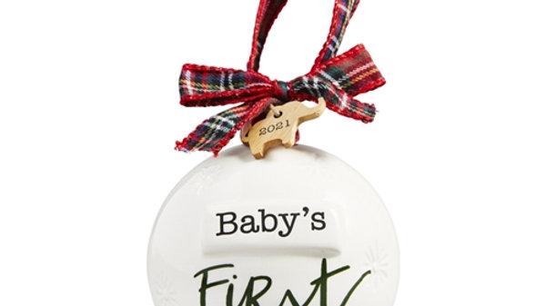 Babys 1st Xmas 2021 Ornament
