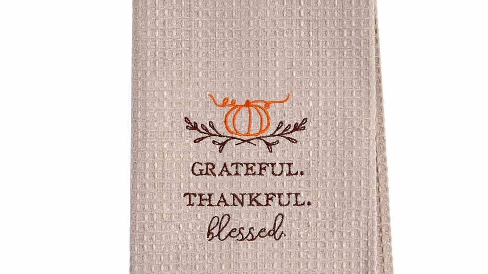 Blessed Waffle Towel