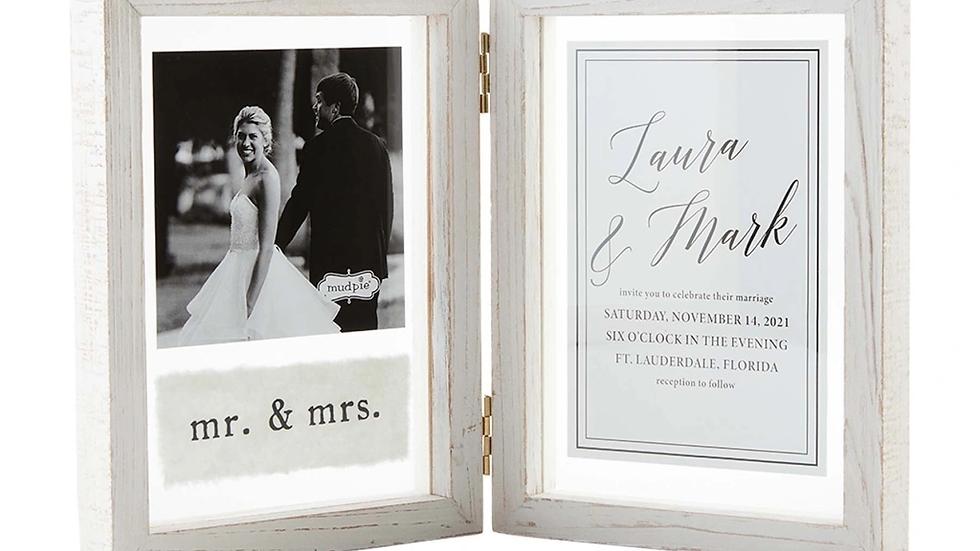 Hinged Wedding Frame