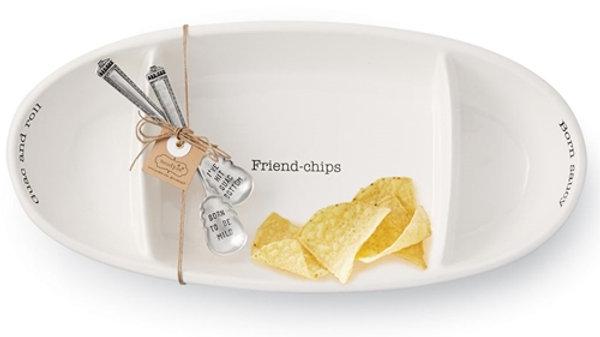 Mud Pie Chips & Dip Serving Set