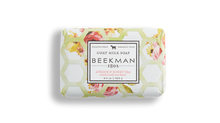 Beekman1802 Apricot and Honey Bar Soap 9oz