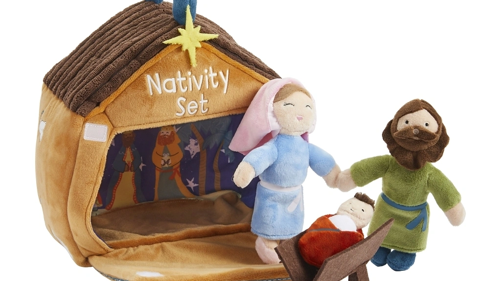 Nativity Plush Set