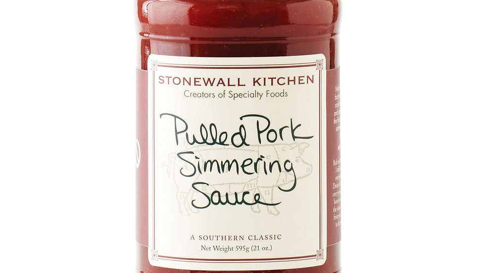 Pulled Pork Simmering Sauce 22oz