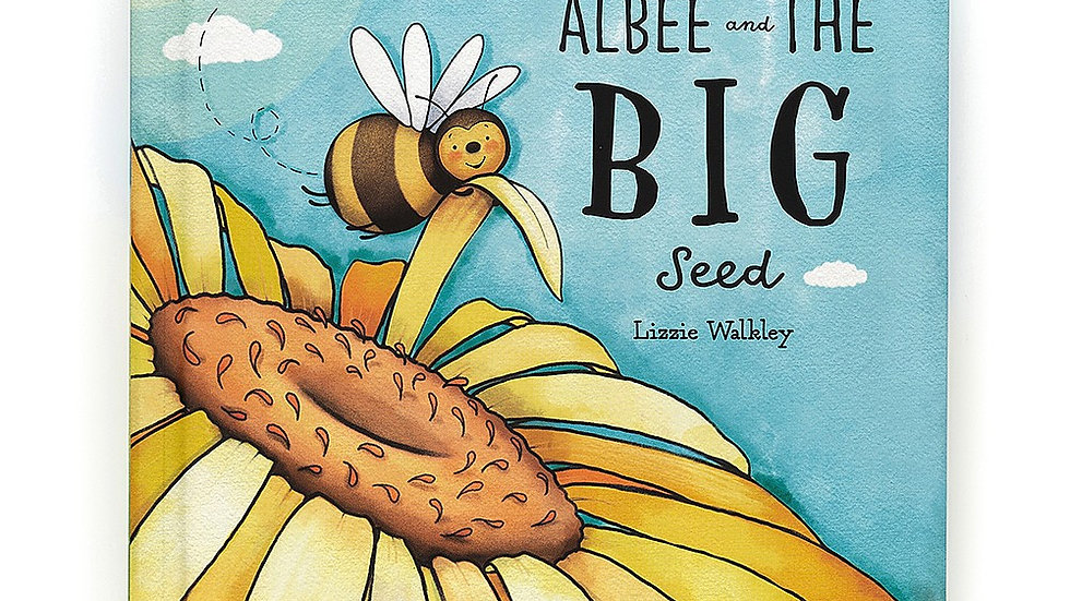 Jellycat Albee and the Big Seed