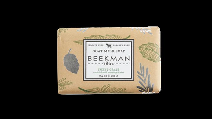 Beekman 1802 Sweet Grass Bar Soap 9oz
