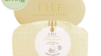 Farmhouse Fresh Citrine Beach® Shea Butter Bar Soap 5.25oz