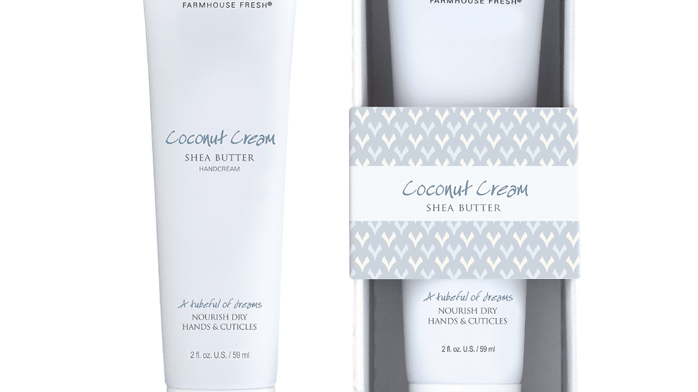 Farmhouse Fresh Coconut Cream Hand Cream 2oz