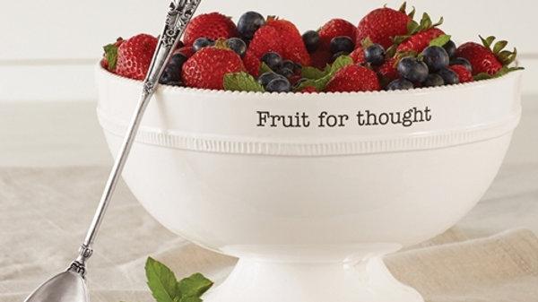 Mud Pie Fruit Bowl Set