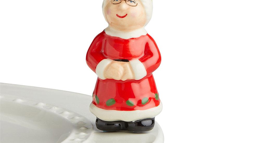 Nora Fleming Mrs. Clause Mini