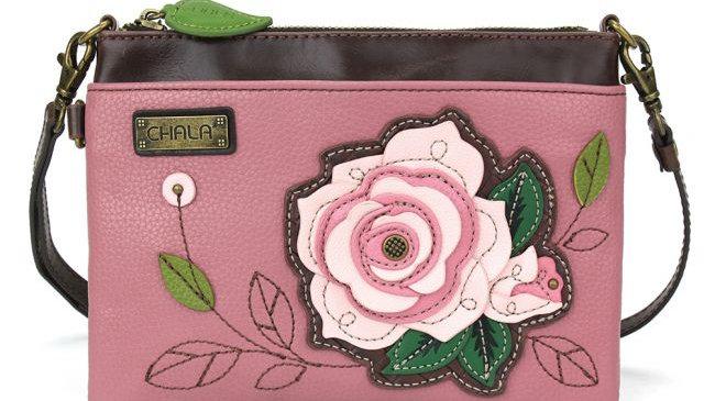 Chala Pink Rose Mini Crossbody