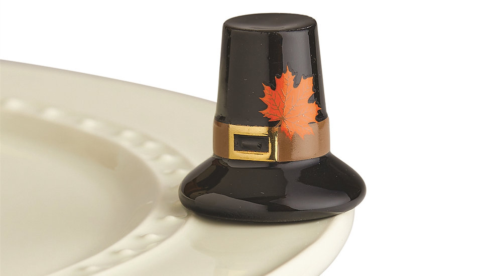 Nora Fleming Pilgrim Hat Mini