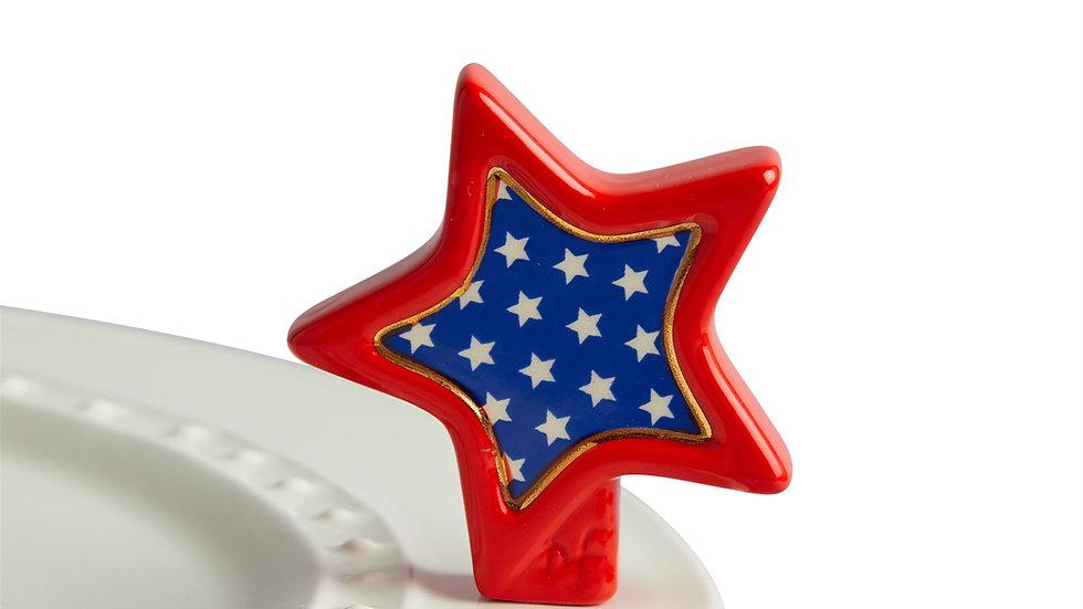 Nora Fleming Sparkly Star Mini