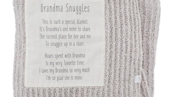 Mud Pie Grandma Snuggles Blanket