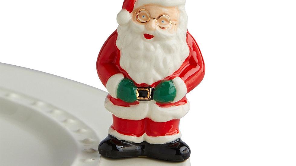 Nora Fleming Santa Mini