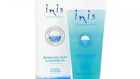 Inis Refreshing Shower Gel 7oz