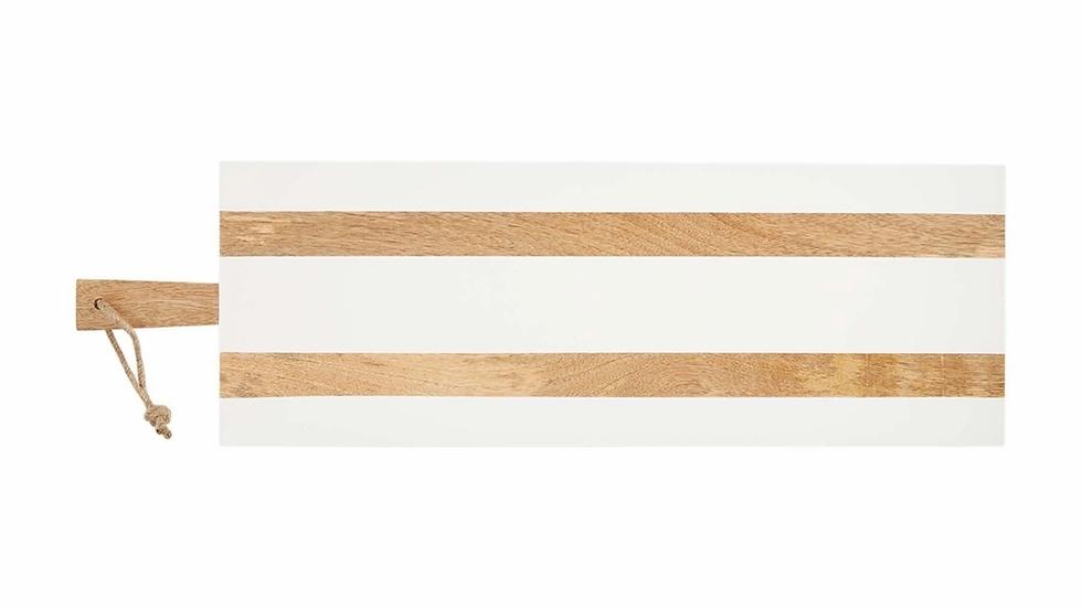 Mud Pie White Long Board