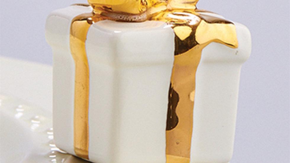 Nora Fleming White Gift Box Mini