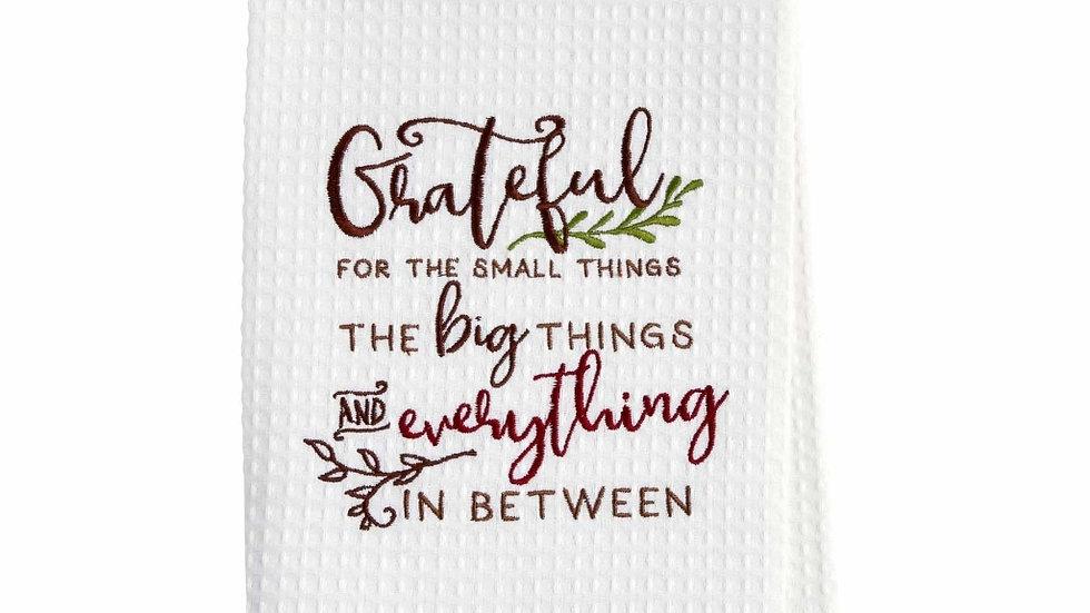 Grateful Waffle Towel