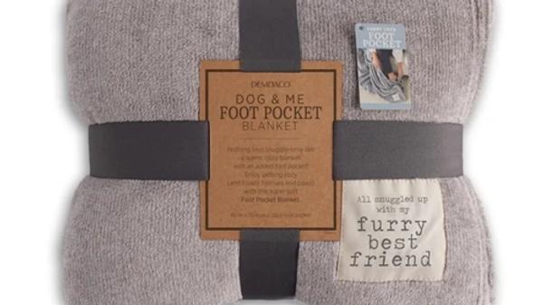 Dog & Me Foot Pocket Blanket