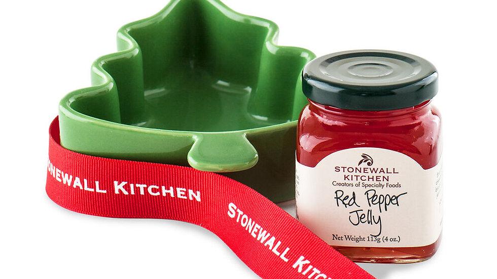 Red Pepper Jelly Tree Ramekin 4oz