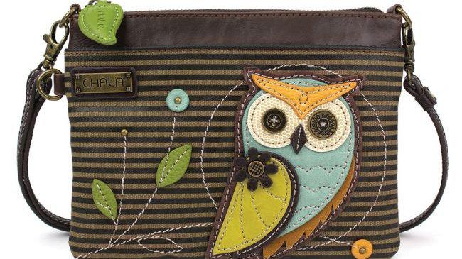 Chala Owl Mini Crossbody