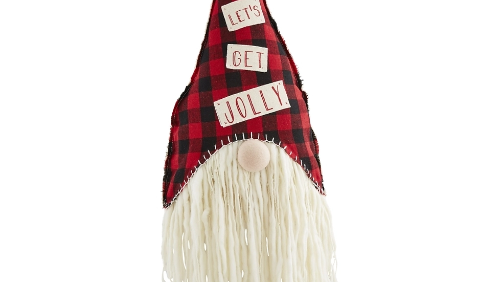 Jolly figural Gnome Pillow