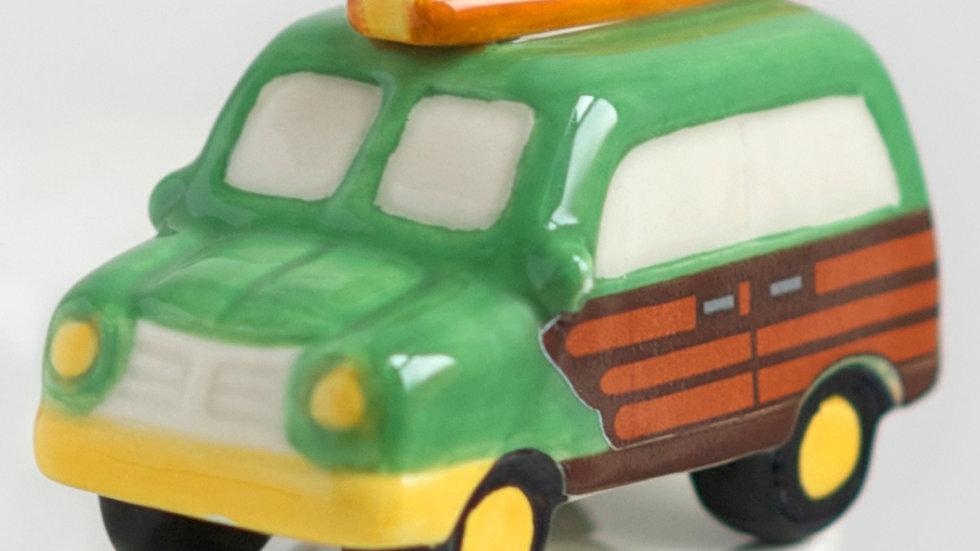 Nora Fleming Woody Wagon Mini