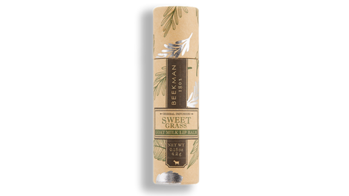 Beekman 1802 Lip Balm Sweet Grass .15oz