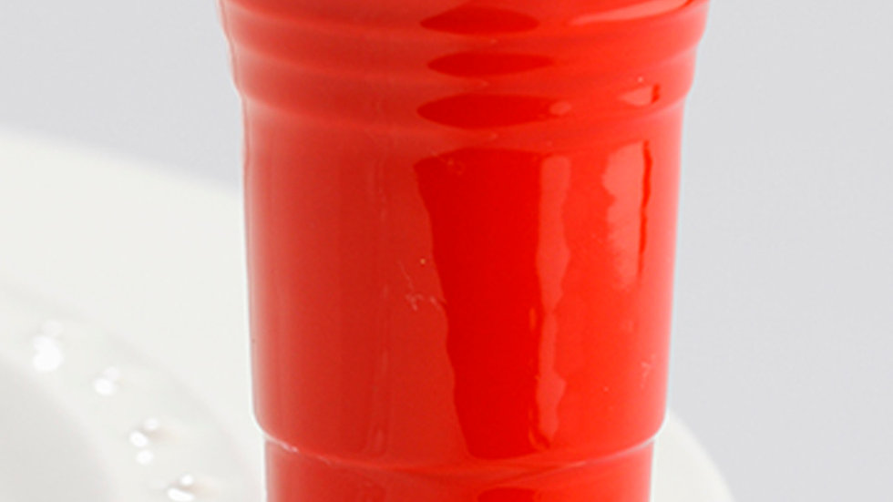 Nora Fleming Red Solo Cup Mini