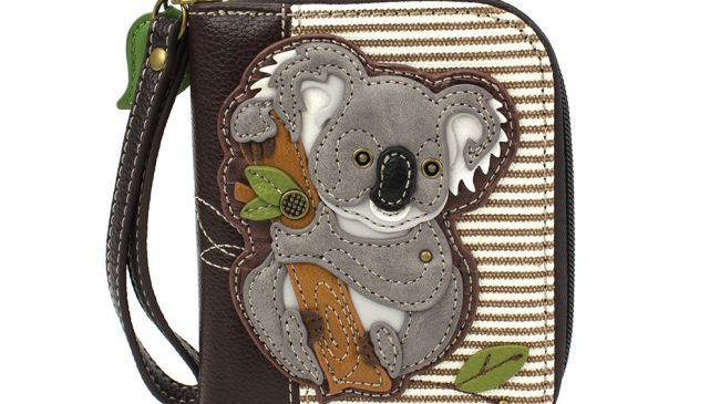 Chala Koala Zip-Around Wallet